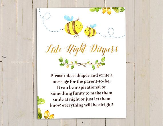 Mommy to Bee Invitation Bee Baby Shower Invite Bumble Bee