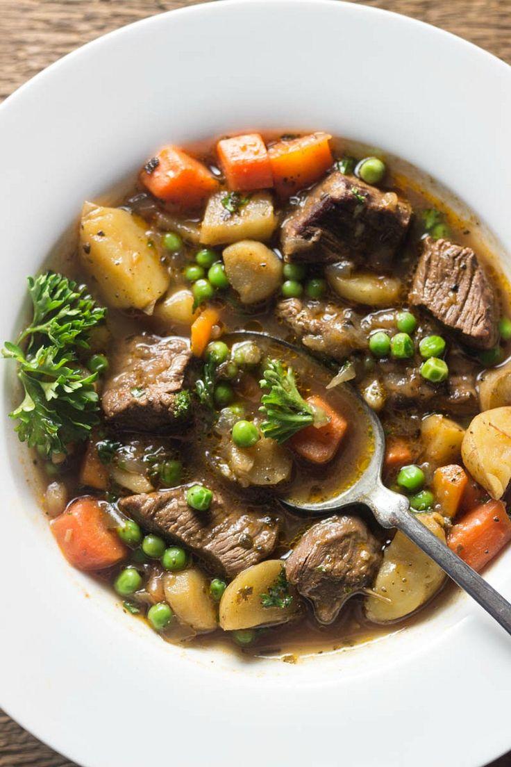 Roasted Garlic Beef Stew   Simply Fresh Dinners