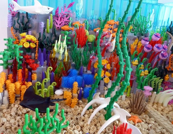 LEGO Ideas - The Coral Reef and the Shark
