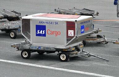 SAS Cargo container supplied by Nordisk Aviation