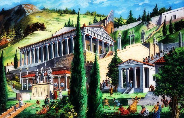 H AΝΑΜΕΝΟΜέΝΗ: Ο χάλκινος 3ος ναός του Απόλλωνα στους Δελφούς και...