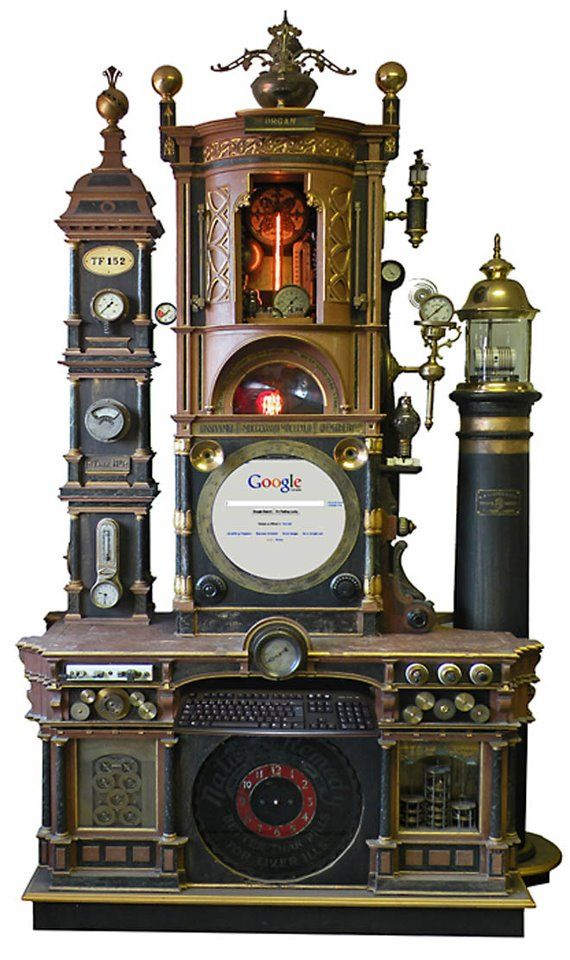 Gallery: Steampunk Workstation Is a Victorian Crapper for Keyboard Tappers