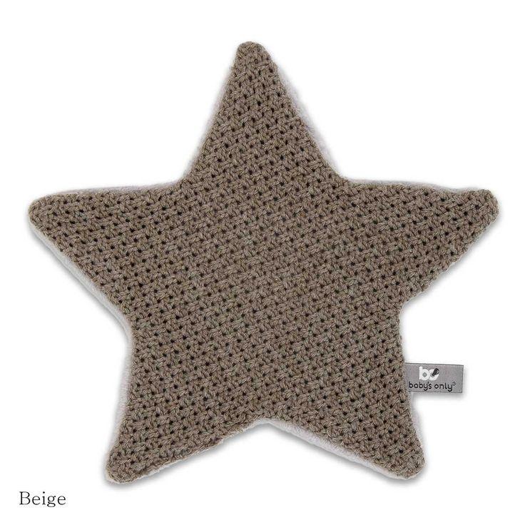 Baby's Only knuffeldoekje ster stoer beige! #knuffel #knuffeldoekje #ster #stoer #baby #only #beige