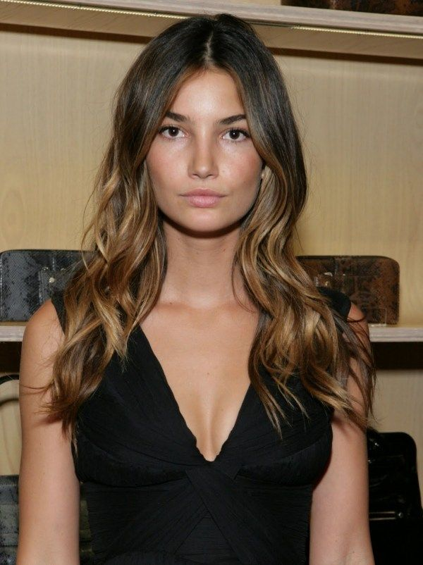 Ombre hair...fade darker roots, gets lighter gradually..Im going to try this with my hair @Jennifer Reagan this would be easy for you to maintain since the lighter color is not at the roots!
