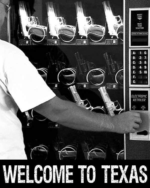 Gun Control, Texas Style.... -.- ...16 Funny Pics & Random Memes
