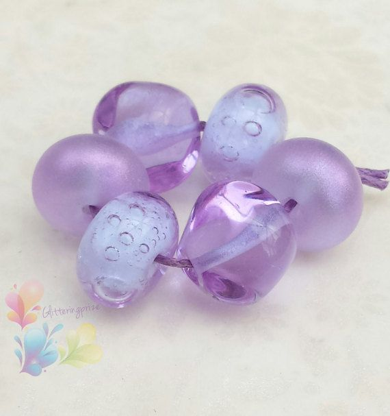 lampwork glass beads lavender jewels by for jewellery making lampwork beads handmade