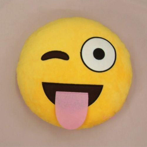 Cool88 Soft Emoji Smiley Emoticon Yellow Round Cushion Pillow Stuffed Plush Toy Doll (Pattern 5), 2015 Amazon Top Rated Pillow Shams #BabyProduct