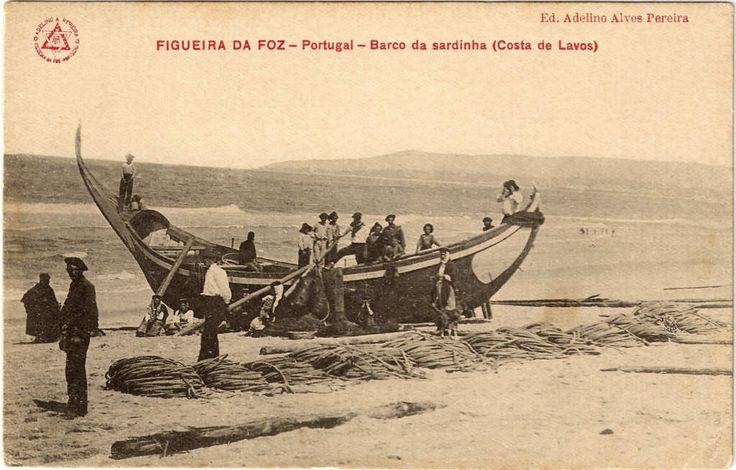 Barco da sardinha, Costa de Lavos, Figueira da Foz
