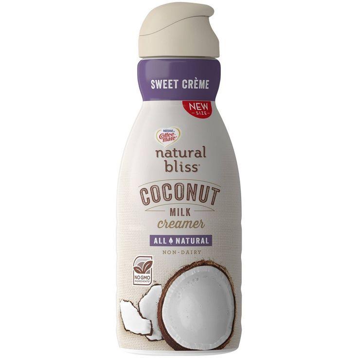 Coffee mate natural bliss coconut milk coffee creamer