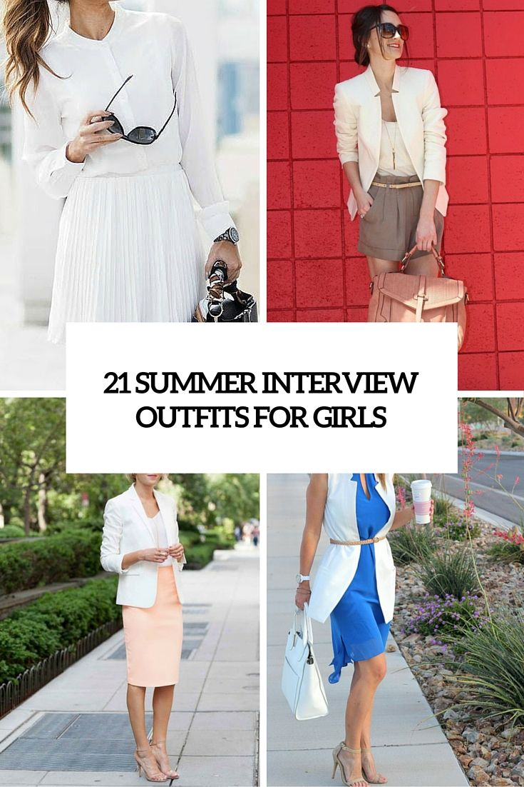 21 summer interview outfits for girls