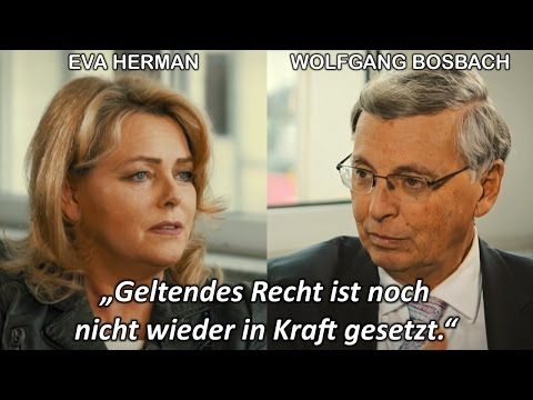 Merkels Rechtsbruch: Eva Herman im Interview mit Wolfgang Bosbach (CDU) - YouTube