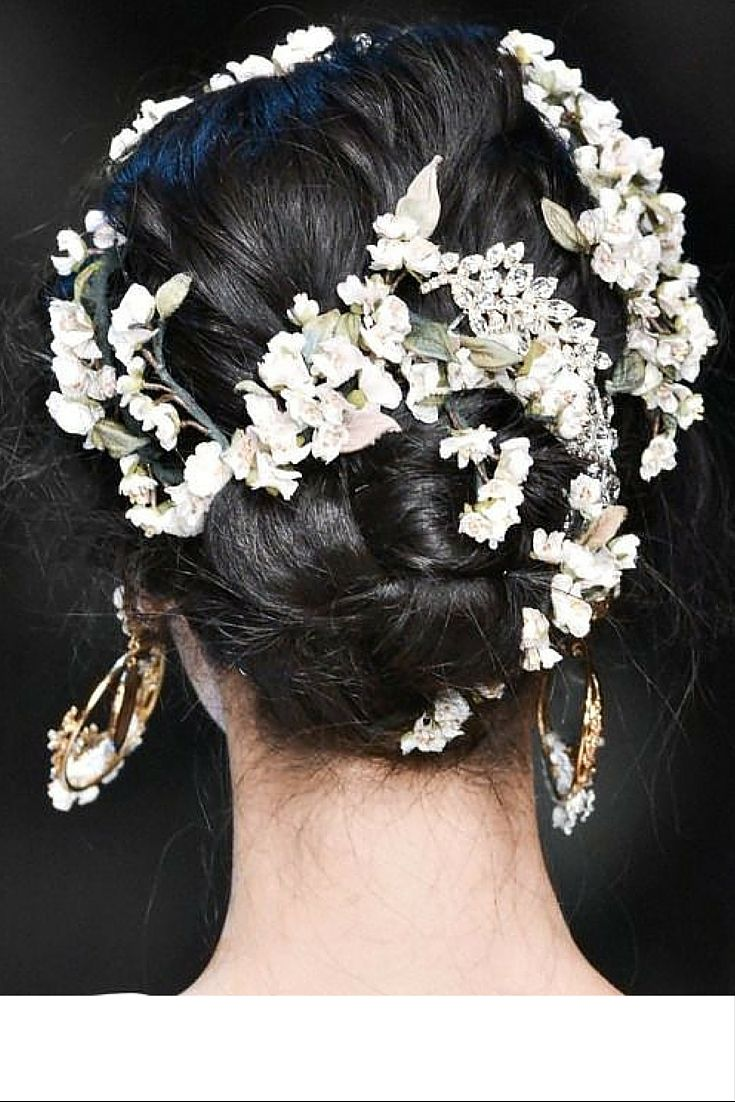 sneakers and pearls, hairstyle, flowers thread through hair, trending now, ulalaland.jpg