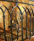 Best Hand Forged Wrought Iron Craftsman Style Railing 400 x 300