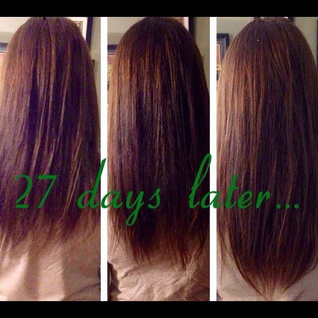 Grow your hair out with the itworks hns !