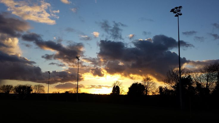 Lovely evening shot at Naomh Éanna GAA grounds Gorey by Mary-Claire Culliton