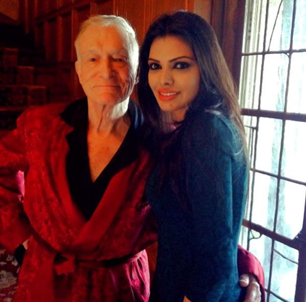 Sherlyn Chopra posts an emotional message on Instagram about Hugh Hefner #FansnStars