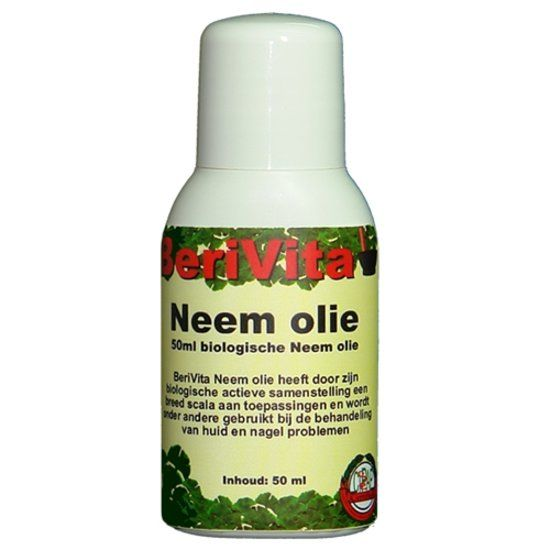 bol.com | BeriVita Neem Olie Puur - 50 ml - Body Oil