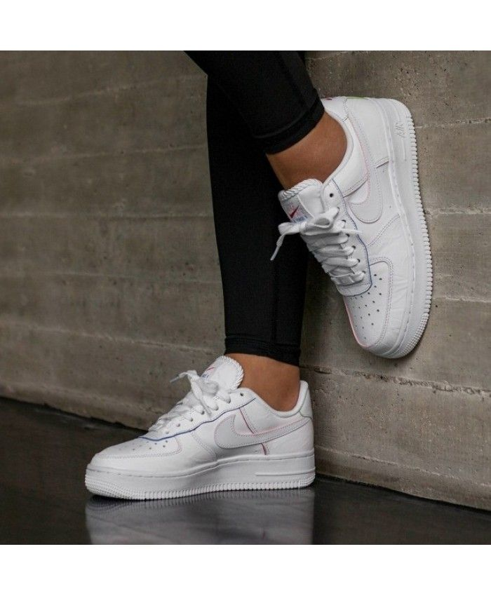 promo code 54da8 6d0d6 Nike Air Force 1 Low White Blue Red