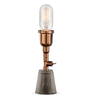 Luminária de Mesa Aluminio e Concreto K1706 - Klaxon