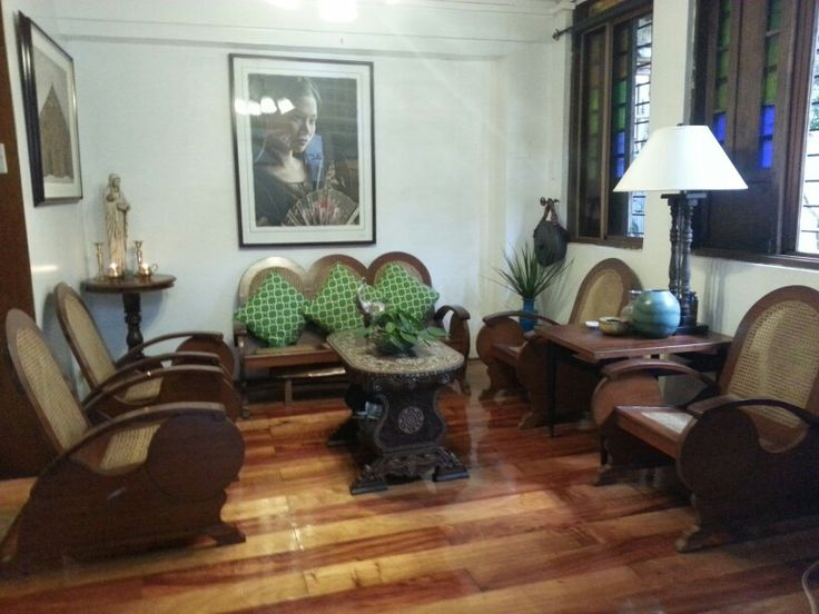 filipino styled living room  filipino house home decor room