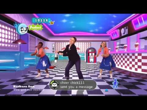Just Dance Kids 2   Barbara Ann - This would be fun for the 50th day or any day of the week!!