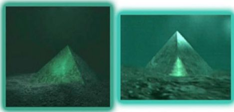 Two Giant Underwater Crystal Pyramids Discovered In The Center Of The Bermuda Triangle