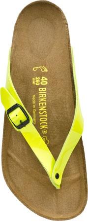 Birkenstock Adria Birkoflor in Kiwi Patent