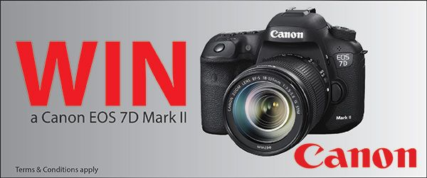Be the first to win the amazing new Canon EOS 7D Mark II Studio22 is excited to offer you the opportunity to win a Canon 7D Mark II. Enter this lucky draw & share this awesome contest via Facebook and you are in line to win the long awaited Canon EOS [...]