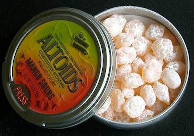 Altoids Sours: | 33 Things From Your Childhood You're Never Going To Eat Again