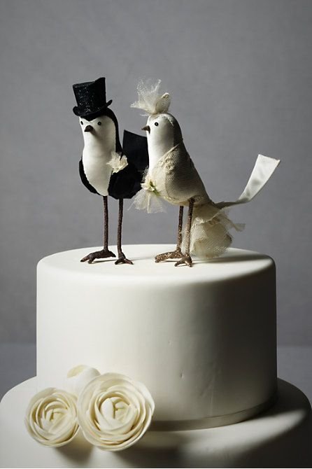 Princely Pair Cake Topper from BHLDN