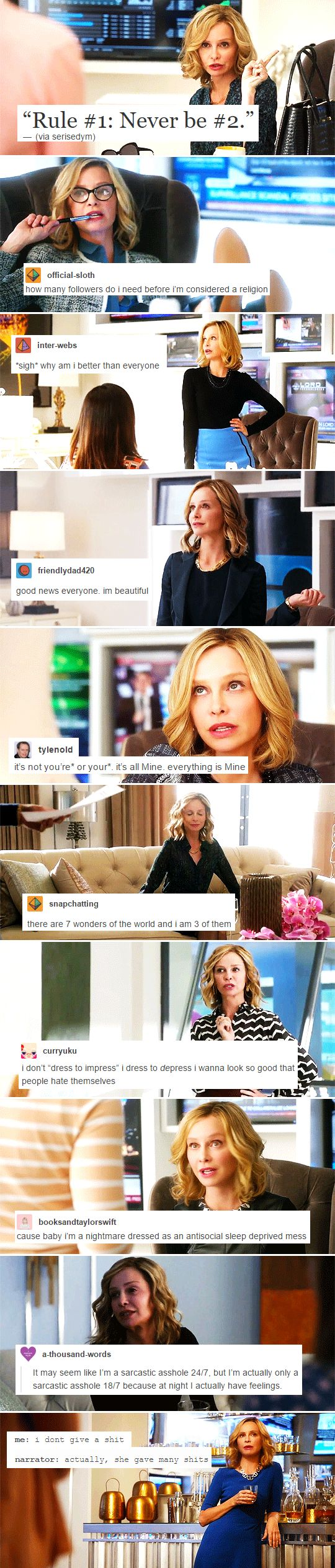 Cat Grant + popular text posts  ~ part 3  #supergirl