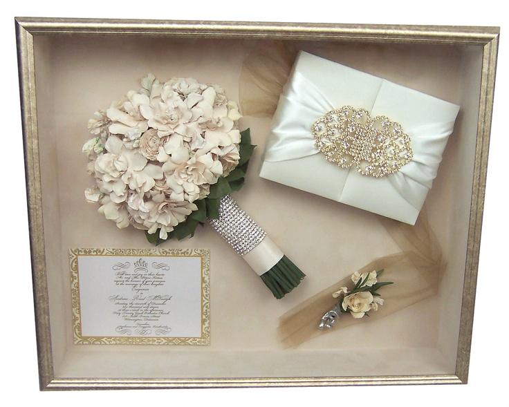 22 best Large Wedding Shadow Boxes images on Pinterest | Wedding ...