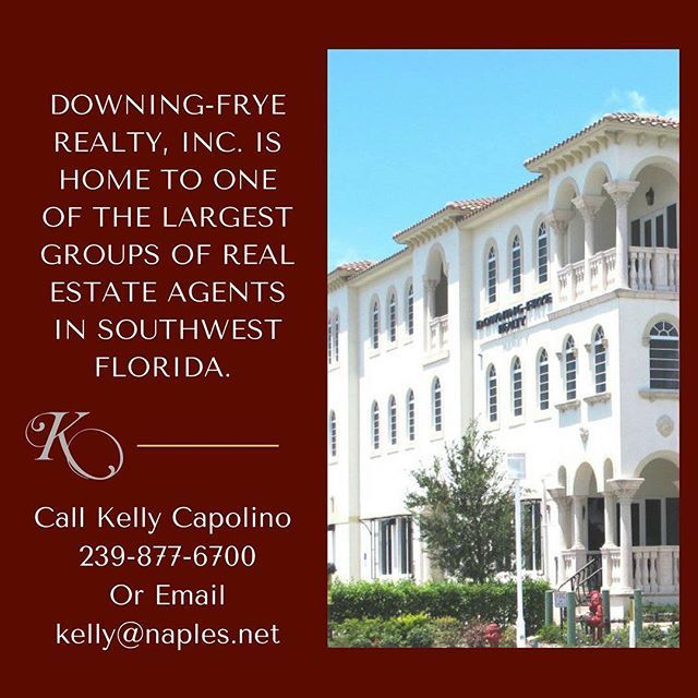 Downing-Frye Realty Inc. is home to one of the largest groups of real estate agents in Southwest Florida. Founded on integrity honesty and technology the company continues to thrive in the Naples market. The company reported over $1.9 billion dollars in closed sales volume in 2014. Sales for 2015 have hit a high with the company reporting they have hit $1 Billion dollars in closed sales volume already. This number surpasses the past several year-to-date totals. The billion dollar mark has…