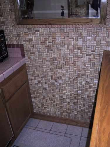 Booze Bathroom Decor - The Wine Cork Bath Mat is the Perfect Do it Yourself Project (GALLERY)