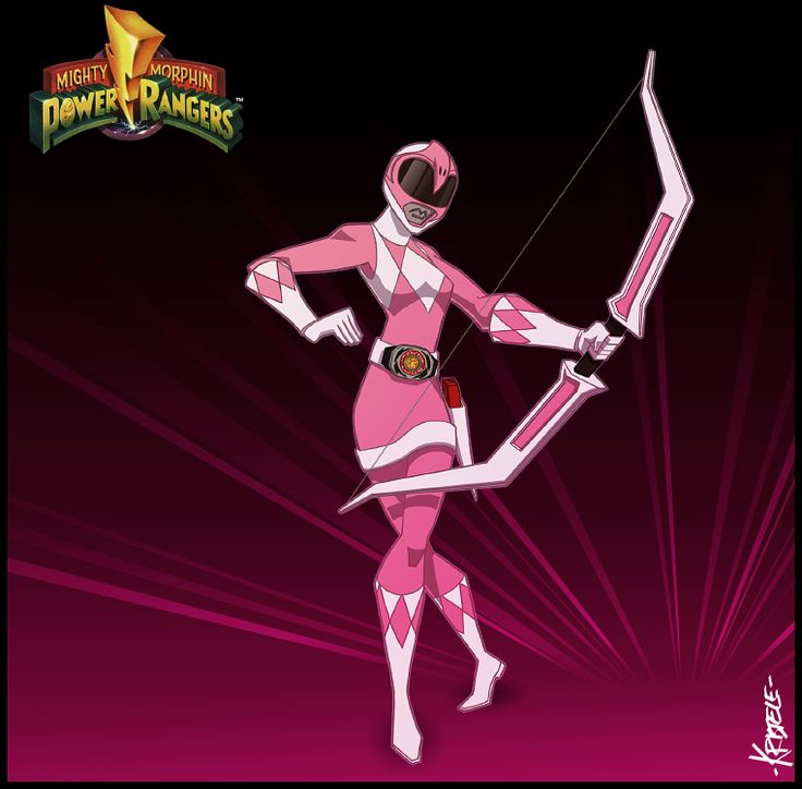 The Pink Ranger by Kristele on DeviantArt