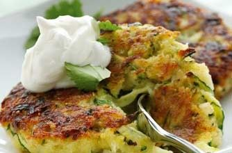 Courgette fritters recipe - goodtoknow | Mobile