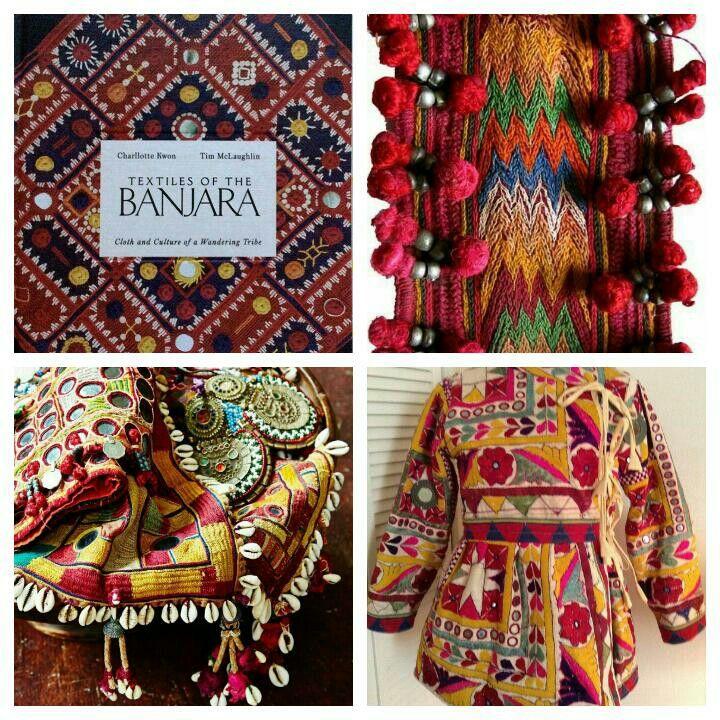 Banjara embroidery