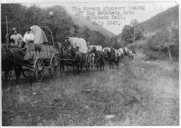 mormon pioneer trek west
