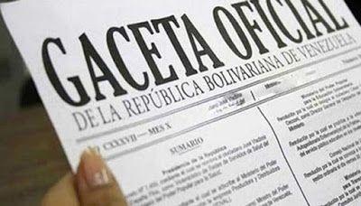La Voz Digital: Gaceta Oficial 41.004 publicada el jueves 06 de Oc...