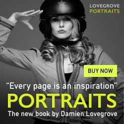 Portraits - the new ebook by Damien Lovegrove