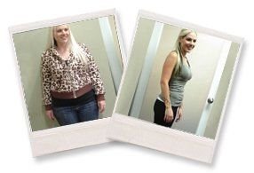 Brittany lost over 50 LB!