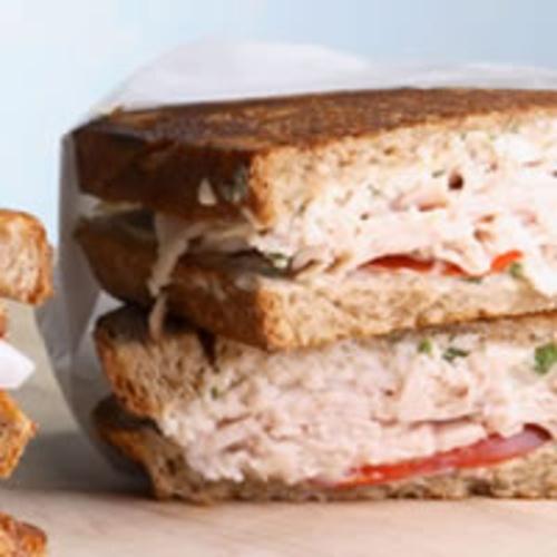 Turkey & Tomato Panini on Better Eats | Better eats | Pinterest