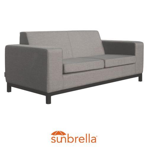 Oasis 2 Str Sofa Grey <br/> Sunbrella Fabric <br/> & Quick Drying Foam
