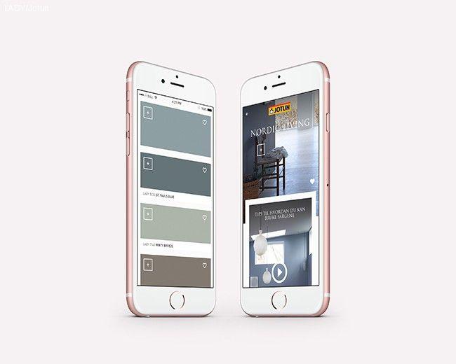 Digitalt fargekart fra Jotun