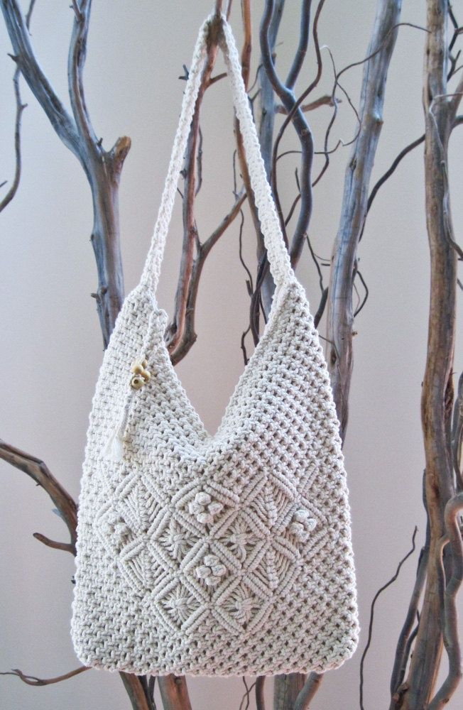 1000 Images About Macrame Bag On Pinterest