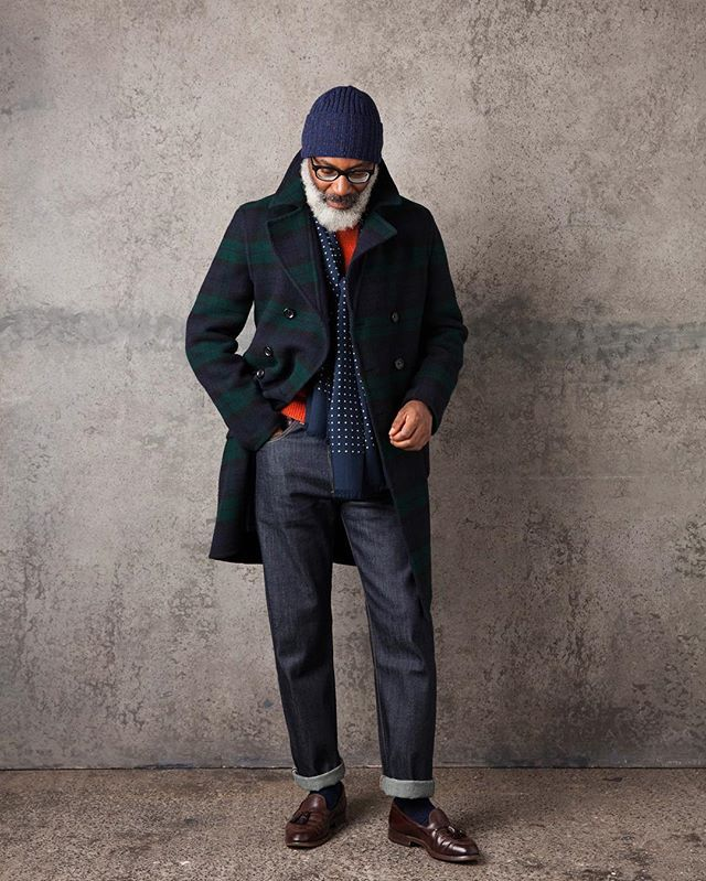 Our reversible overcoat, new for this season. #drakes