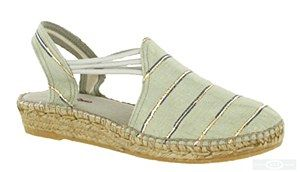 Toni Pons Nantes is a ladies slingback traditional Spanish made espadrille with soft satinised canvas uppers, elasticated straps and stitch detailing with a natural jute covered sole. Heel height approx. 30mm. Size: 36, 37, 38, 39, 40, 41, 42. http://www.robineltshoes.co.uk/store/product/171159/Toni-Pons-Nantes-Ladies-Slip-On-Slingback-Espadrille-Sandal/ #summer #espadrille #sandals #womensfashion #shoes #holidays #wedges