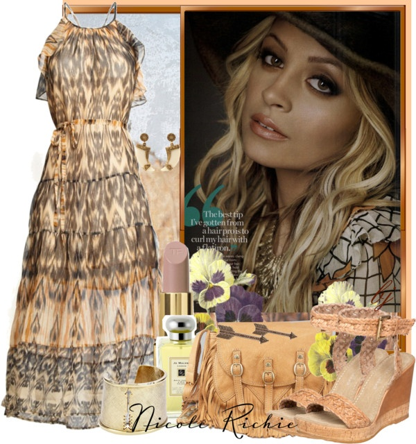 Nicole richie style polyvore dresses