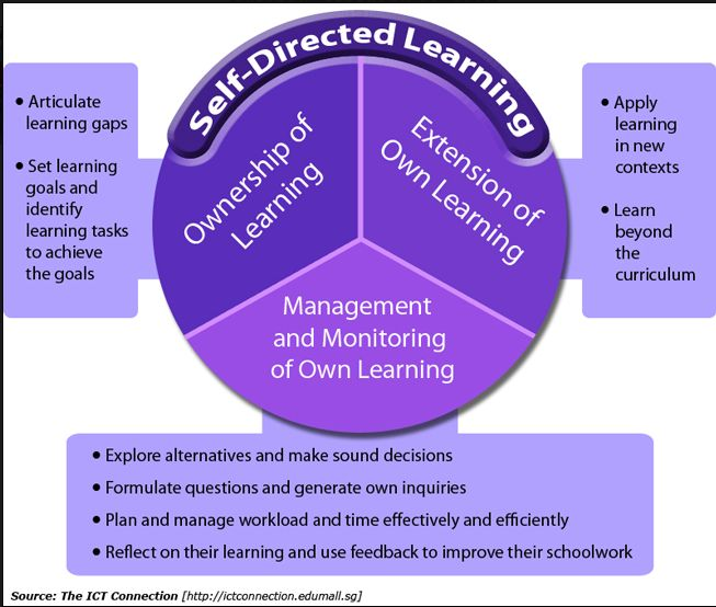 Think, self direction as an adult learner will