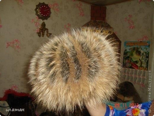 Модельная соболиная шапка
